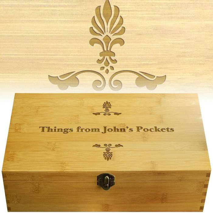 Pockets Multikeep Wood Organization Box