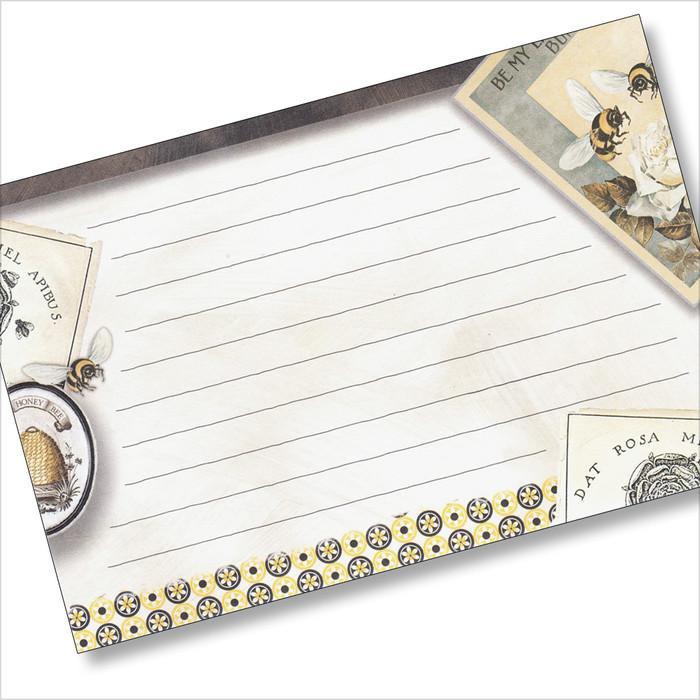4x6 Recipe Card  - Honey at Home 36ea