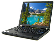 Lenovo ThinkPad T61 Laptop - Core 2 Duo 1.8GHz - 2GB DDR2 - 80GB HDD - DVD+CDRW
