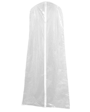 Clear Vinyl Garment Bag