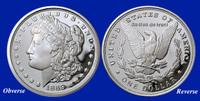 1889-CC Morgan Silver Dollar Tribute Proof