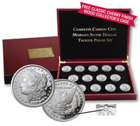 "The Complete ""Carson City"" Morgan Silver Dollar Tribute Proof Collection"