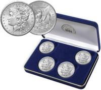 1878 Morgan Silver Dollar Variety Set