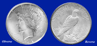 1922 Peace Dollar Uncirculated