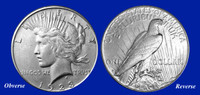 1923 Peace Dollar Uncirculated