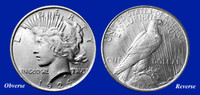 1924 Peace Dollar Uncirculated
