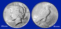 1927 Peace Dollar XF-BU