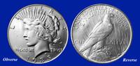 1935 Last-Year-of-Issue Peace Dollar XF-BU