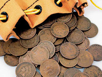Bag Of Indian Head Pennies