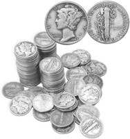 Mercury Dimes Grab Bag