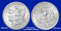 1883-CC Morgan Silver Dollar - Collector's Circulated Condition