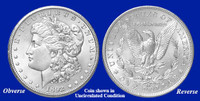 1892-CC Morgan Silver Dollar - Collector's Circulated Condition