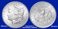 1879-P Morgan Silver Dollar - Collector's Circulated Condition