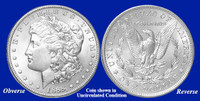 1888-P Morgan Silver Dollar - Collector's Circulated Condition
