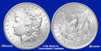 1890-P Morgan Silver Dollar - Collector's Circulated Condition