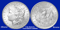 1896-P Morgan Silver Dollar - Collector's Circulated Condition