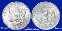 1898-P Morgan Silver Dollar - Collector's Circulated Condition