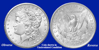 1921-P Morgan Silver Dollar - Collector's Circulated Condition
