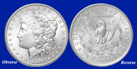 1891-P Morgan Silver Dollar - Brilliant Uncirculated Condition