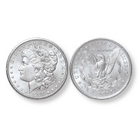 One Morgan Silver Dollar