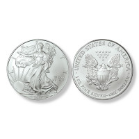 2017 Brilliant Uncirculated Silver Eagle Dollars