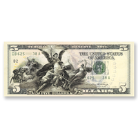 """Electricity as the Dominant Force in the World"" $5 Silver Certificate Tribute"