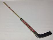 "Bauer Reactor 9000 Custom LH Pro Stock Goalie Stick 26.5"" Miami Ohio #35 Custom NCAA"
