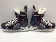 BAUER VAPOR APX2 CUSTOM PRO STOCK ICE HOCKEY SKATES 10.75 E 10.5 E USED NY RANGERS NHL LIKE NEW