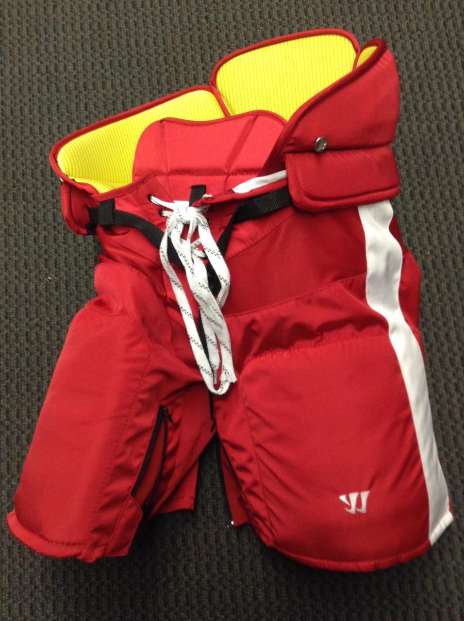 Warrior Franchise Custom Pro Hockey Pants Medium Boston University