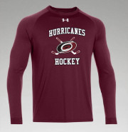 ARHS Hurricanes Hockey Under Armour Long Sleeve Locker Tee Adult