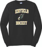 Enfield High Hockey Gildan Cotton Long Sleeve Tee Shirt