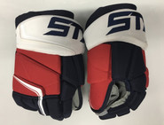 "STX Stallion 500 Pro Stock Custom Hockey Gloves 15"" Washington Capitals NEW"