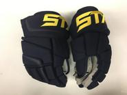 "STX Stallion 500 Pro Stock Custom Hockey Gloves 14"" St Louis Blues #2"