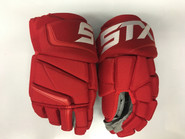 "STX Stallion 500 Pro Stock Custom Hockey Gloves 14"" Detroit Red Wings NHL"