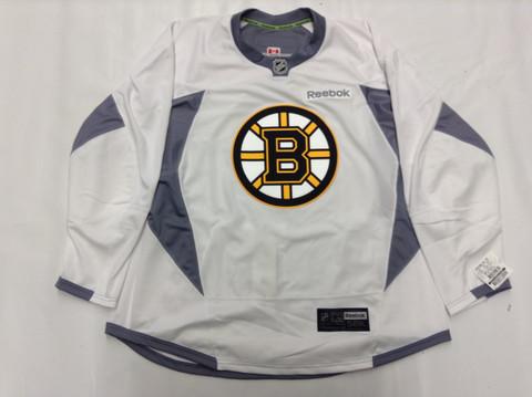 meet 0ae9b c90dc canada boston bruins practice jersey white 68eff dbcdf