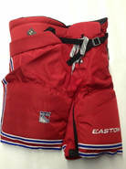 Easton Pro 15 Custom Pro Stock Hockey Pants Red Large New York Rangers NHL