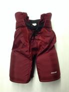 "Bauer Custom Pro Hockey Pants UMASS AMHERST MINUTEMEN Medium +1"" Pro Stock NCAA"