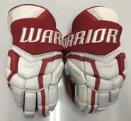 "BU Covert QRL Pro Stock Custom Hockey Gloves 14"" BU Terriers New"