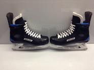 BAUER NEXUS 1N CUSTOM PRO STOCK ICE HOCKEY SKATES 11 E NEW YORK RANGERS NHL New