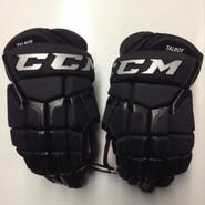 "CCM HG 50PP Pro Stock Custom Hockey Gloves 14"" Boston Bruins NHL NEW TALBOT"