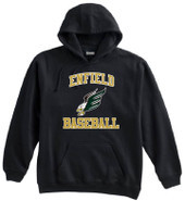 Enfield High Baseball Pennant Super 10 Cotton Hoodie
