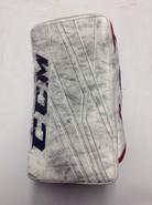 CCM Extreme Flex 3 Pro Goalie Blocker Pro Stock GEORGIEV NHL New York Rangers