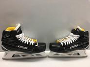 Bauer Supreme 1S Pro Stock Custom Goalie Skate LUNDQVIST 11 E NY Rangers NEW