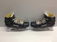 BAUER Supreme 1S Custom Pro Stock Ice Hockey Goal Skates 10.5 D NCAA
