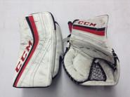CCM Premier Goalie Catcher and Blocker Pro Stock NCAA Custom  Used