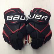 "Bauer Vapor 1X Pro Stock Custom Hockey Gloves 15"" NE Huskies New"