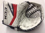 CCM Premier 2 Goalie Catcher Pro Stock Custom AHL COWLEY Thunderbirds Used