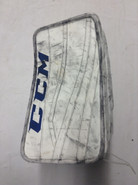 CCM Extreme Flex 2 Pro Goalie Blocker GUDLEVSKIS Syracuse Crunch Pro stock AHL (4)