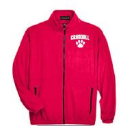 Prudence Crandall Ultra Club Men's Full Zip Fleece RED