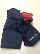 CCM HP45X Custom Pro Stock Hockey Pants X-Large XL Florida Panthers NHL Used